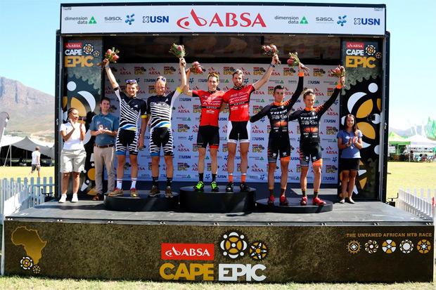 Absa Cape Epic 2016: Resumen de la segunda etapa