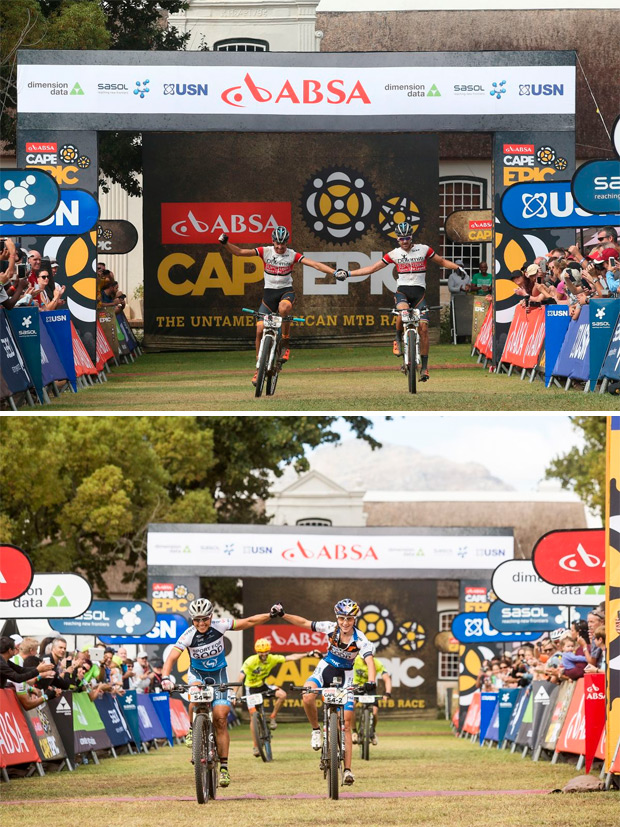 Absa Cape Epic 2016: Resumen de la sexta etapa