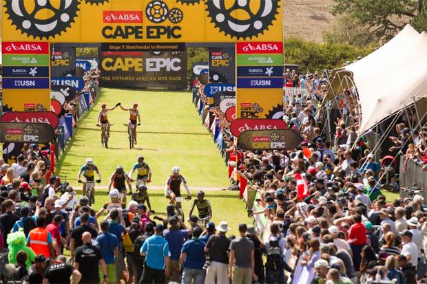 Absa Cape Epic 2016: Resumen de la séptima y última etapa