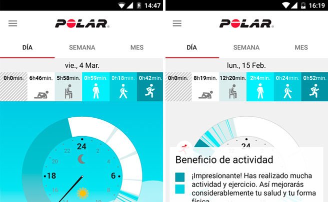 Actualización Polar Flow 3.0, ya disponible para iOS y Android