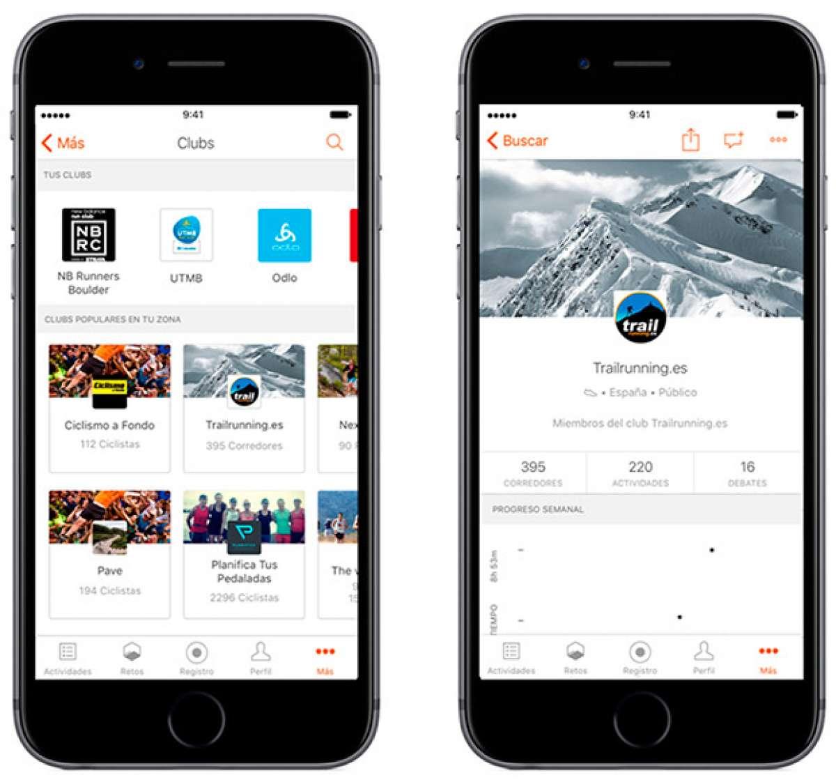 Strava Clubs, una nueva herramienta móvil para mejorar la conexión entre atletas de todo el mundo