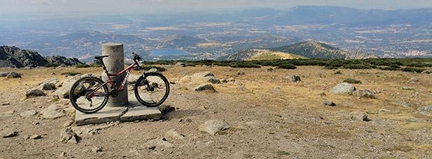 La foto del día en TodoMountainBike: 'Desde lo alto del Mundo'