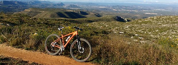 La foto del día en TodoMountainBike: 'Alto de Rafelguaraf'