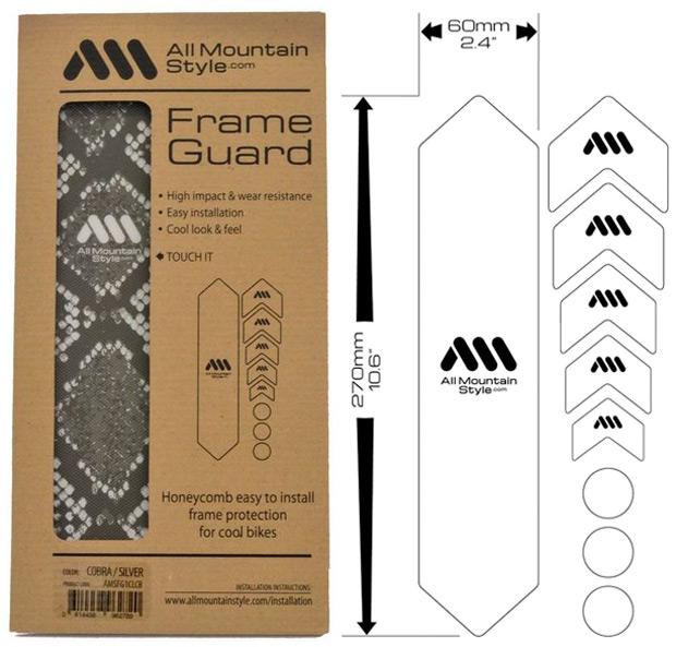 AMS Frame Guard Cobra, nueva estética reptiliana para los protectores de cuadro de All Mountain Style
