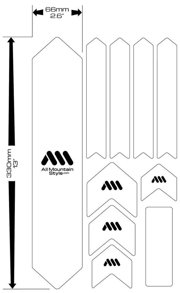 Nuevos colores para los protectores de cuadro AMS Honeycomb Frame Guard XL