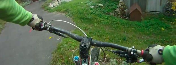 Video: El antes y el después de una dolorosa caída practicando Mountain Bike