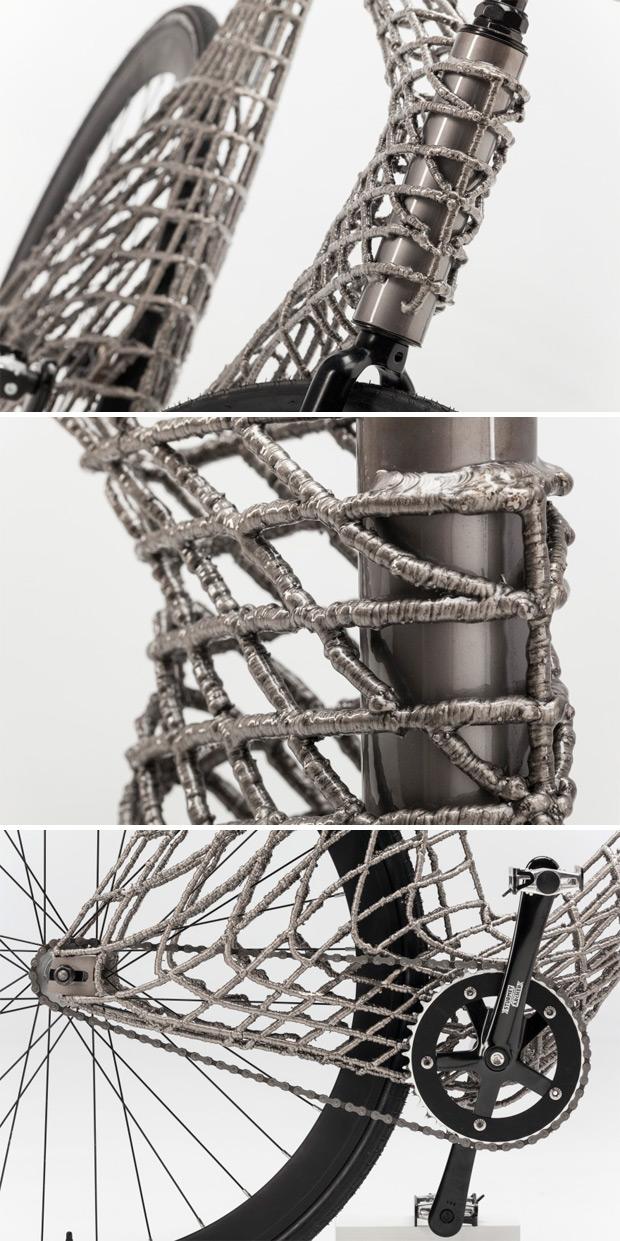 Arc Bicycle, una bicicleta fabricada mediante impresión 3D que ya apunta maneras