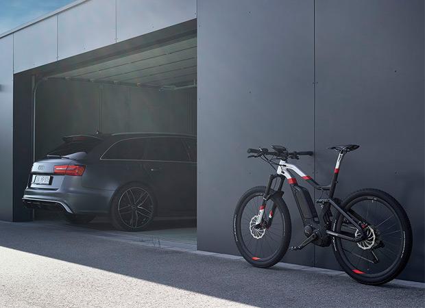 Audi Sport e-Tron MTB, una de las eléctricas de montaña más ligeras del mundo