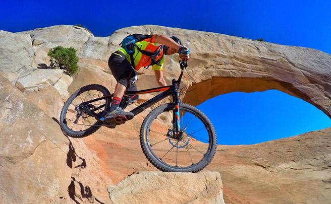 Escalando rocas en Fruita (Colorado, EUA) con Aurélien Fontenoy