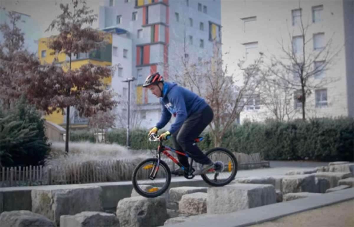 En TodoMountainBike: ¿Son resistentes las bicicletas de montaña infantiles? Aurélien Fontenoy nos lo demuestra