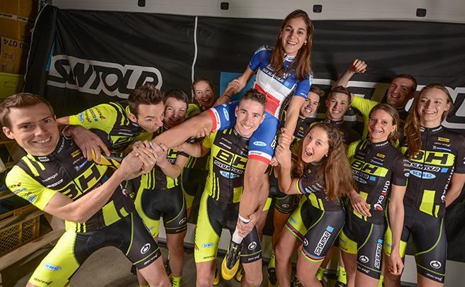 El equipo BH-SR Suntour-KMC, líder del Ranking Mundial XCO de la UCI