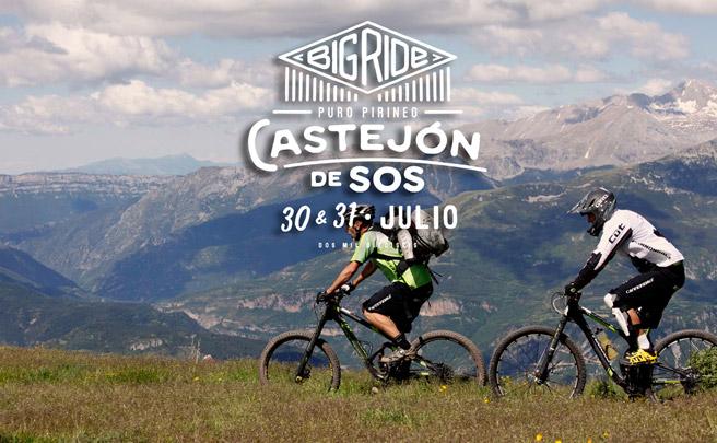 Todo listo para el Big Ride Puro Pirineo de Castejón de Sos