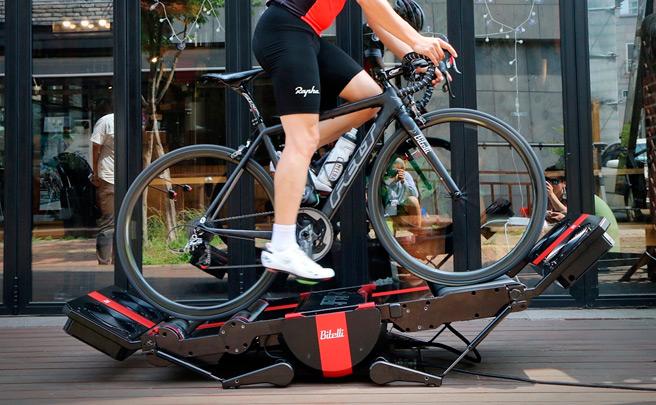 Bitelli Bike Trainer, el rodillo del futuro ya está aquí