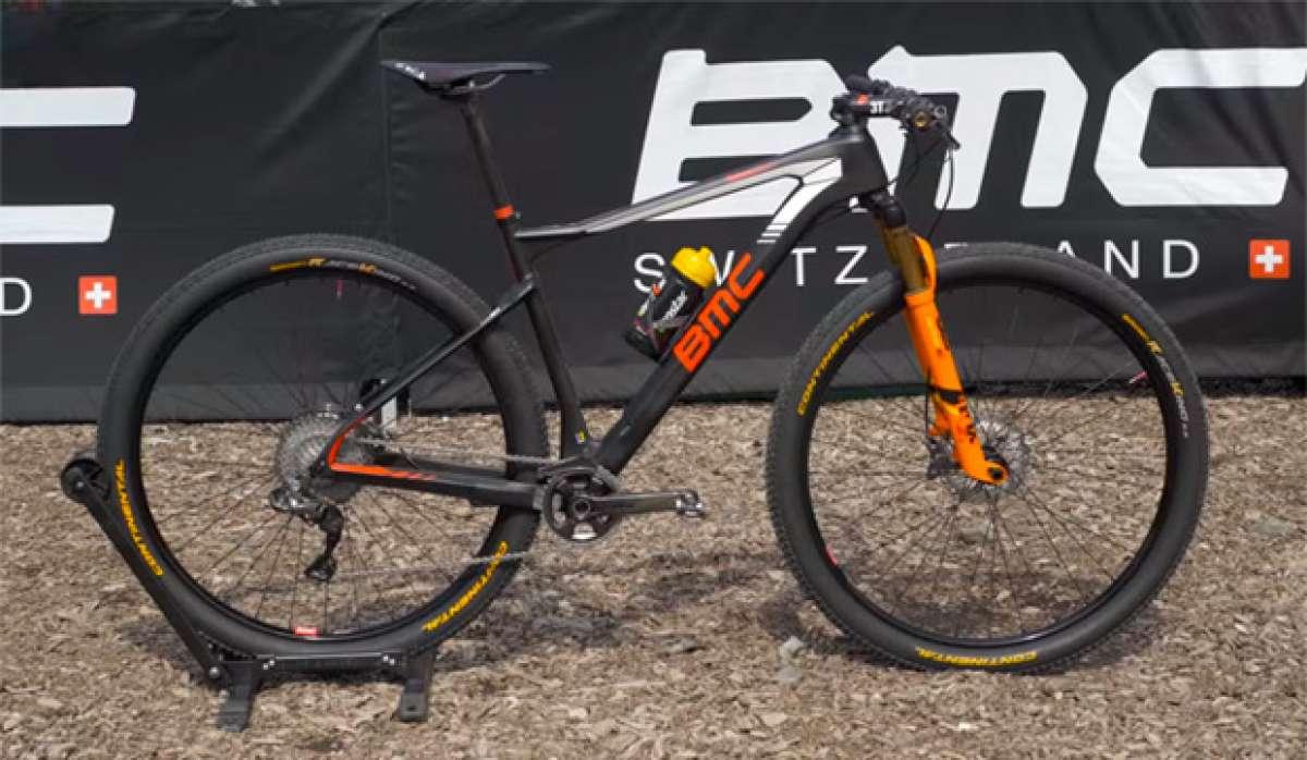 Así es la BMC Teamelite 01 de Julien Absalon