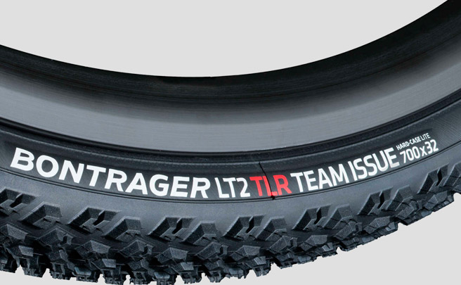 Para amantes del Gravel: nueva cubierta Bontrager LT2 Team Issue TLR