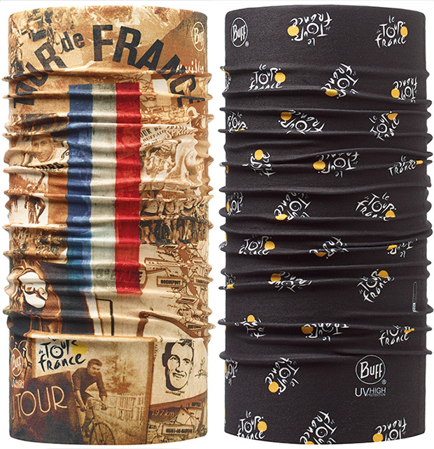 Nueva gama de productos BUFF inspirados en el Tour de Francia