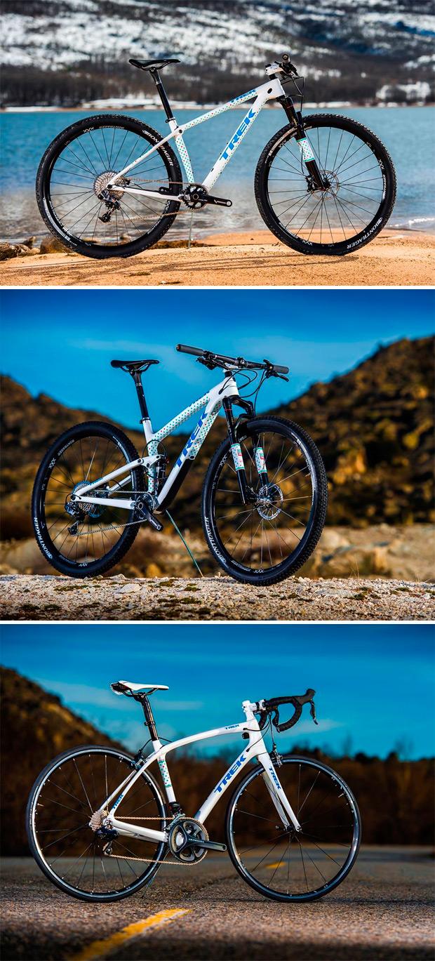 Arranque de temporada para Clàudia Galicia, con bicicletas nuevas incluidas