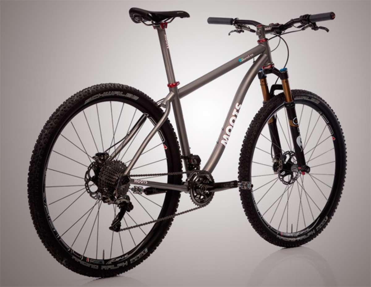 Las bicicletas fabricadas en titanio de Moots, distribuidas en España, Portugal y Andorra por Camdau Bikes