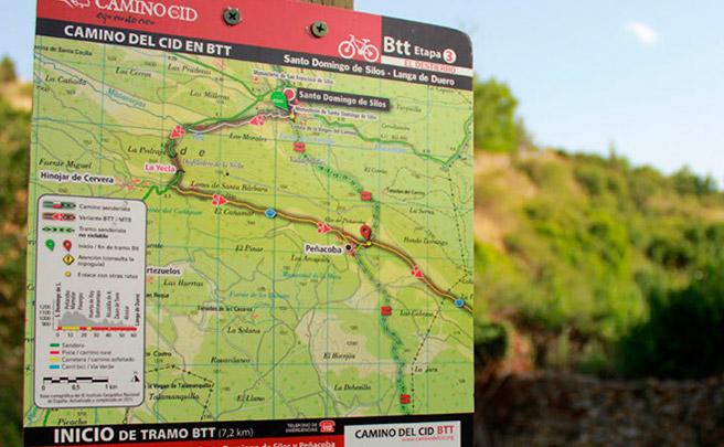 Cerca de 4.000 nuevas señales a lo largo del recorrido del Camino del Cid