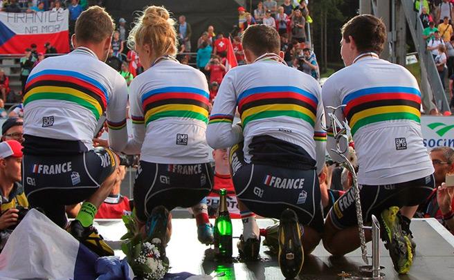 Francia, ganadora del Campeonato del Mundo XC Team Relay 2016