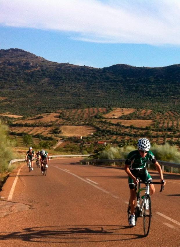 Arranca el Campeonato de España de Ciclismo Escolar en Mérida