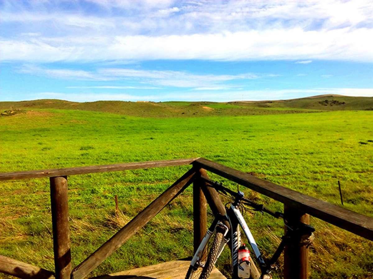 La foto del día en TodoMountainBike: 'Campos de Puerto Real'