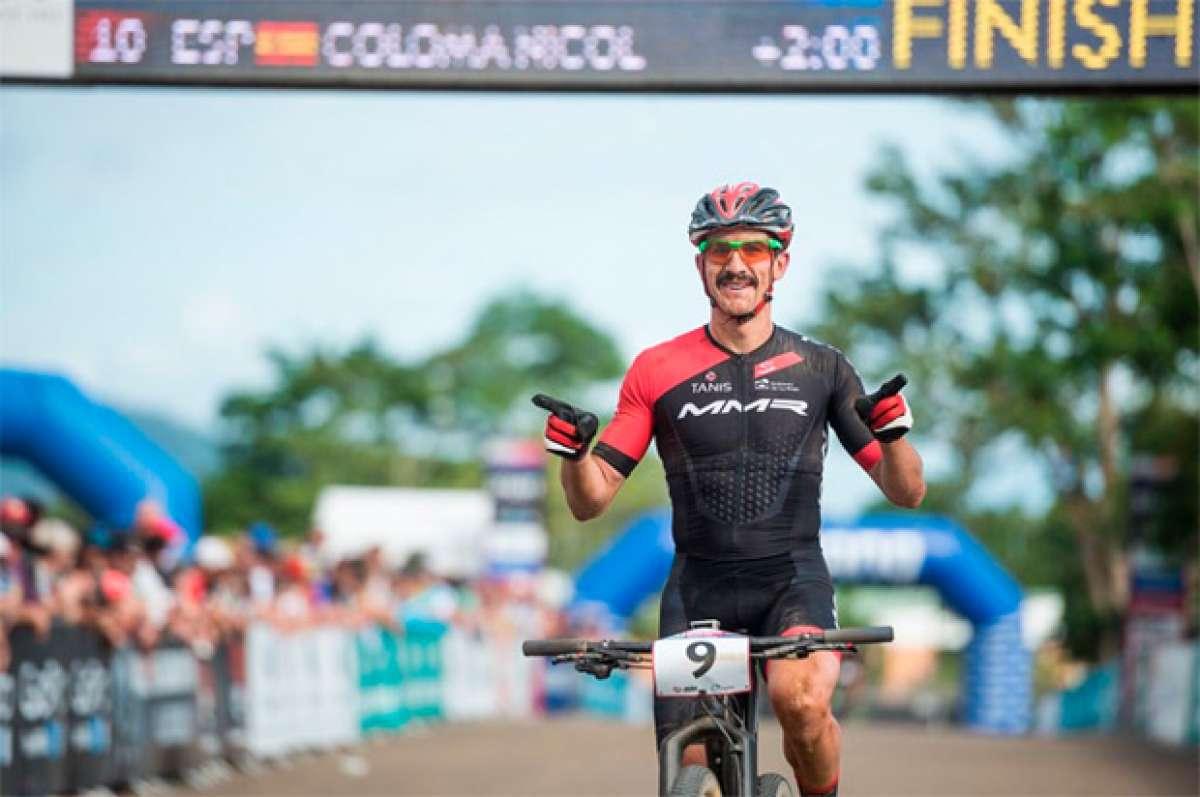 Carlos Coloma, el primer español confirmado para la prueba XCO de Río