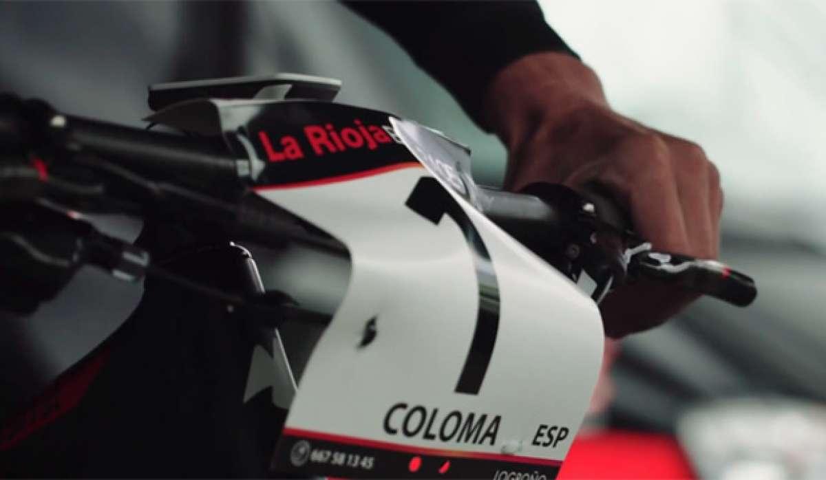 Siguiendo a Carlos Coloma en La Rioja Bike Race 2016