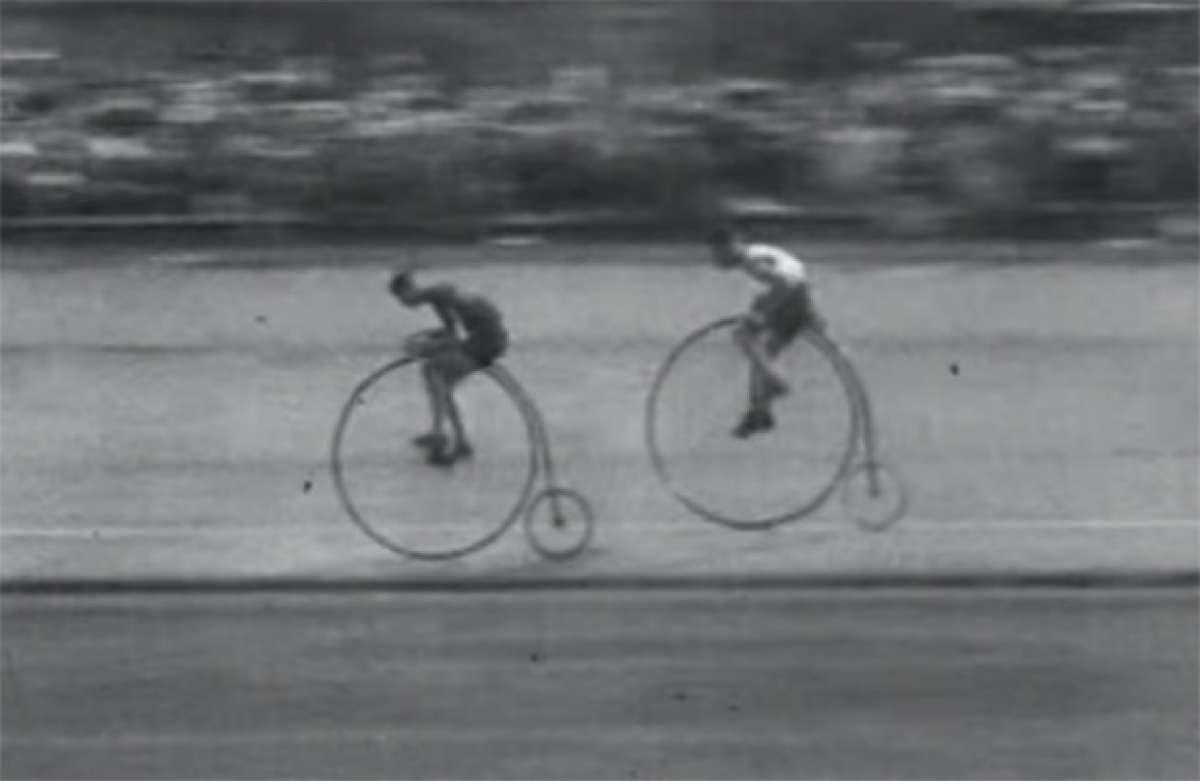 Mirando atrás: Espectacular carrera de 1928 disputada sobre bicicletas clásicas
