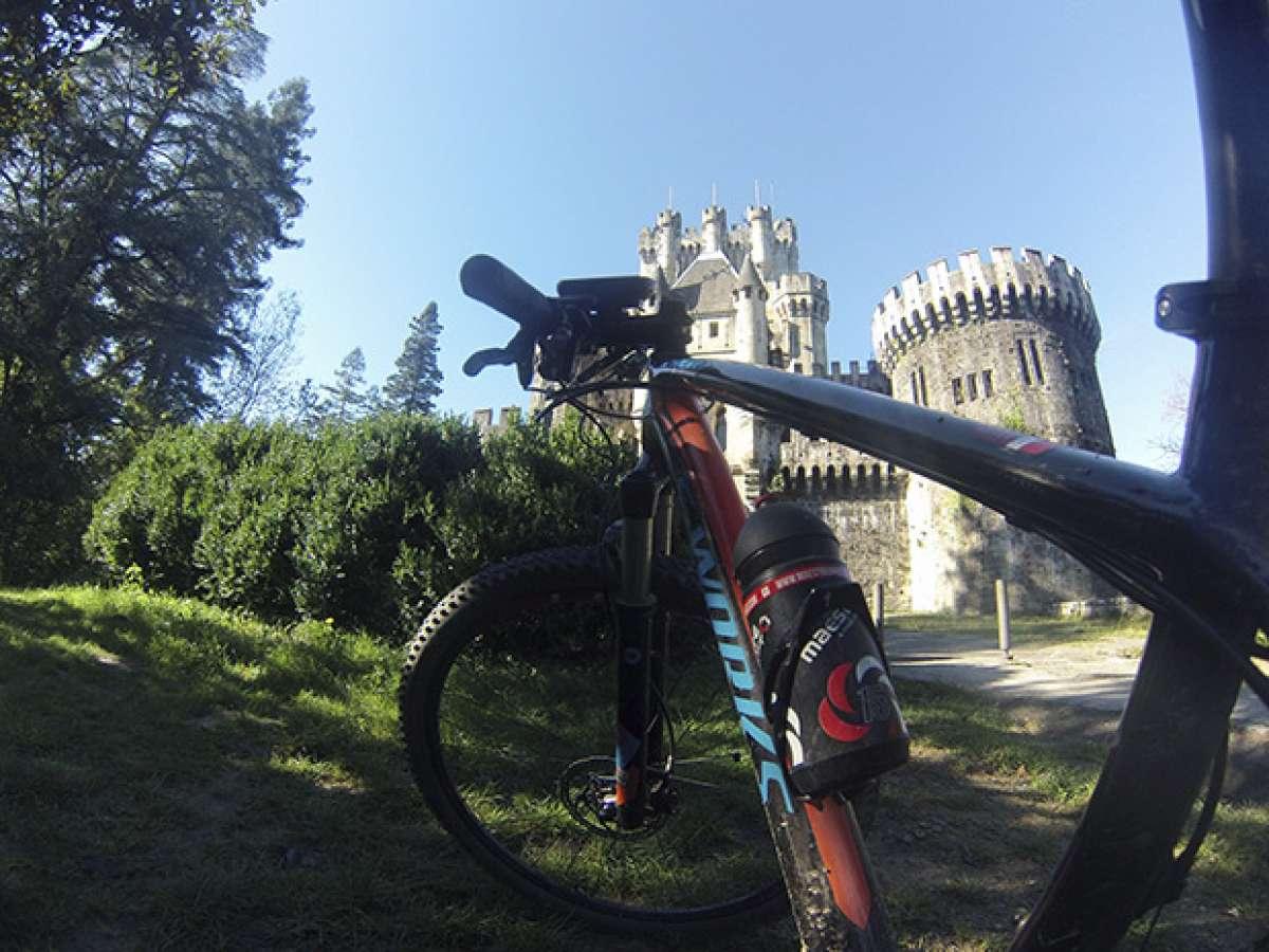 La foto del día en TodoMountainBike: 'El Castillo de Butrón'