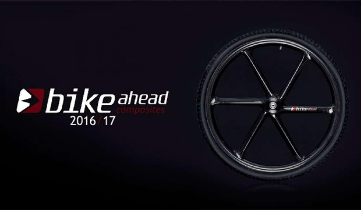 Catálogo de Bike Ahead Composites 2017. Toda la gama de componentes Bike Ahead Composites para la temporada 2017