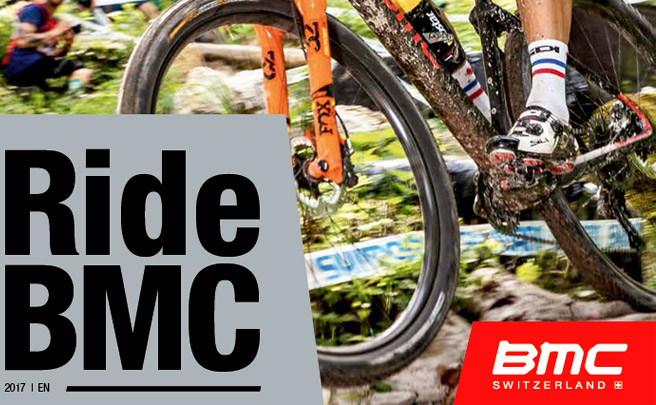 Catálogo de BMC 2017. Toda la gama de bicicletas BMC para la temporada 2017