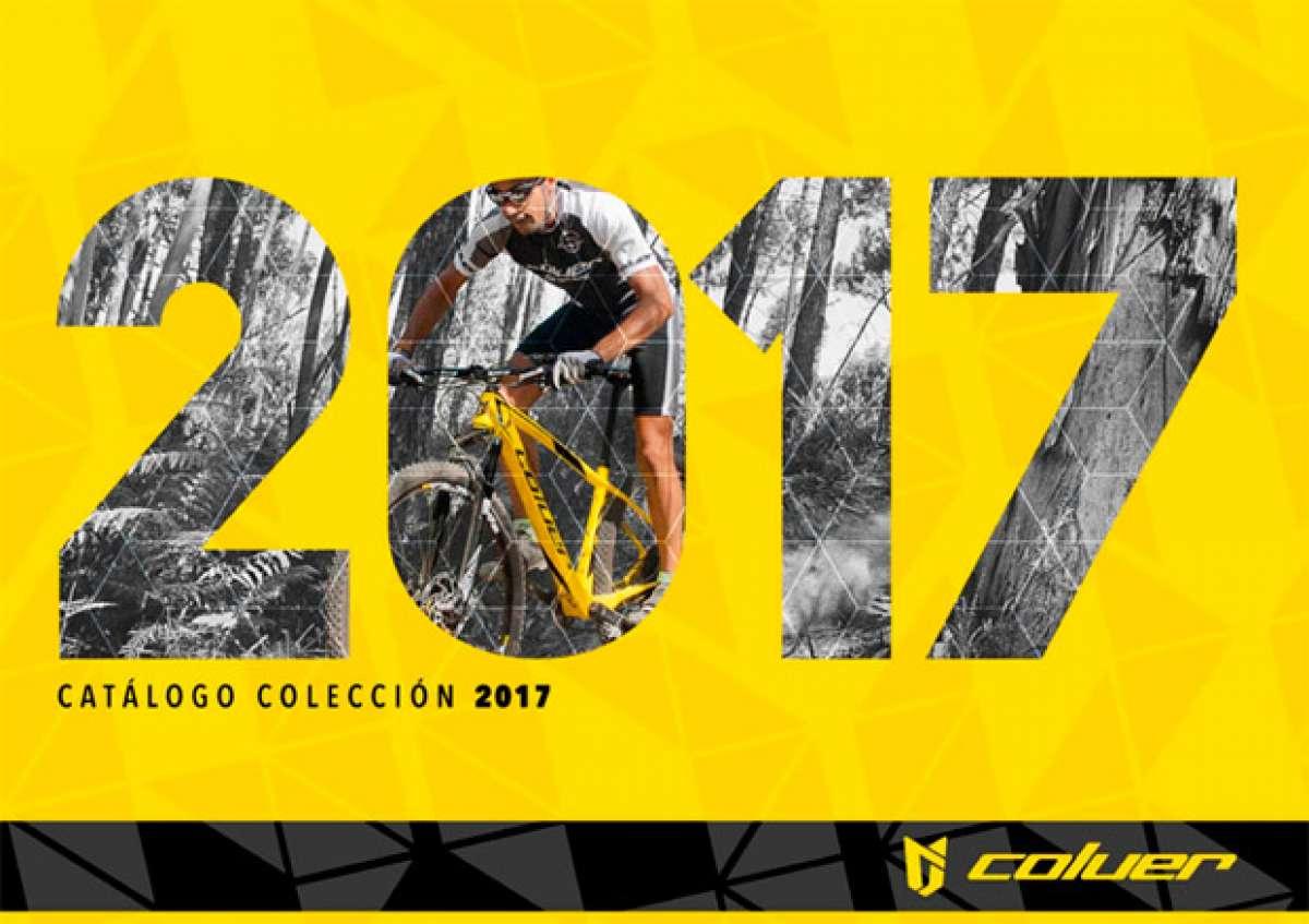 Catálogo de Coluer 2017. Toda la gama de bicicletas Coluer para la temporada 2017