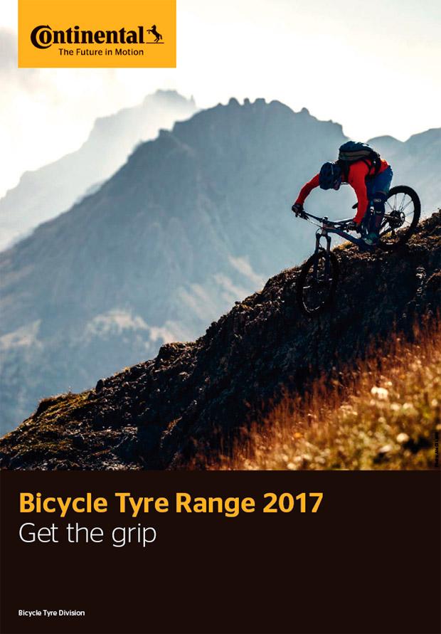 Catálogo de Continental 2017. Toda la gama de neumáticos Continental para la temporada 2017