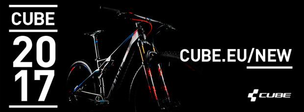 Catálogo de CUBE 2017. Toda la gama de bicicletas CUBE para la temporada 2017