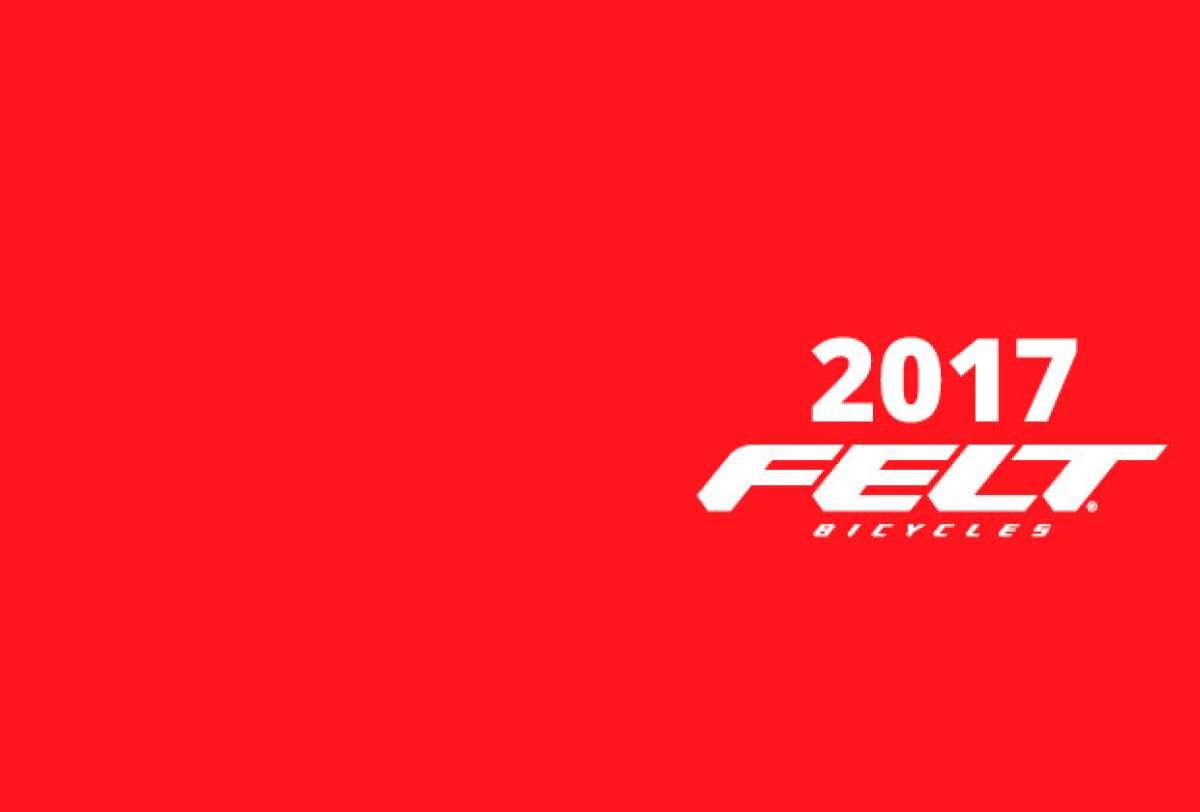 En TodoMountainBike: Catálogo de Felt 2017. Toda la gama de bicicletas Felt para la temporada 2017