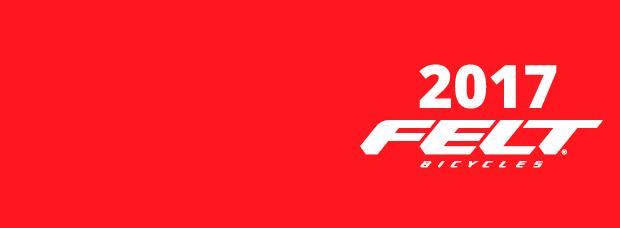 Catálogo de Felt 2017. Toda la gama de bicicletas Felt para la temporada 2017