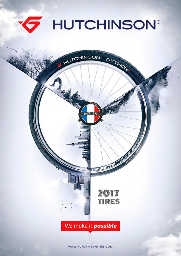Catálogo de Hutchinson 2017. Toda la gama de neumáticos Hutchinson para la temporada 2017