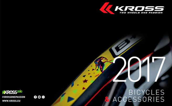 Catálogo de Kross 2017. Toda la gama de bicicletas Kross para la temporada 2017