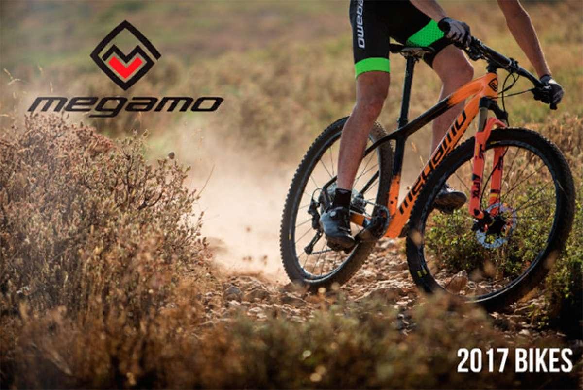 Catálogo de Megamo 2017. Toda la gama de bicicletas Megamo para la temporada 2017