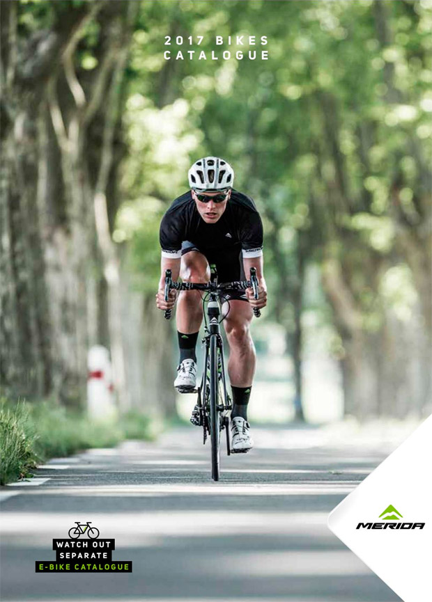 Catálogo de Merida 2017. Toda la gama de bicicletas Merida para la temporada 2017