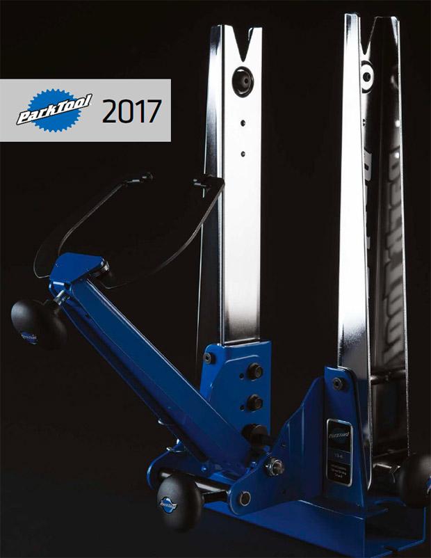 Catálogo de Park Tool 2017. Toda la gama de productos Park Tool para la temporada 2017