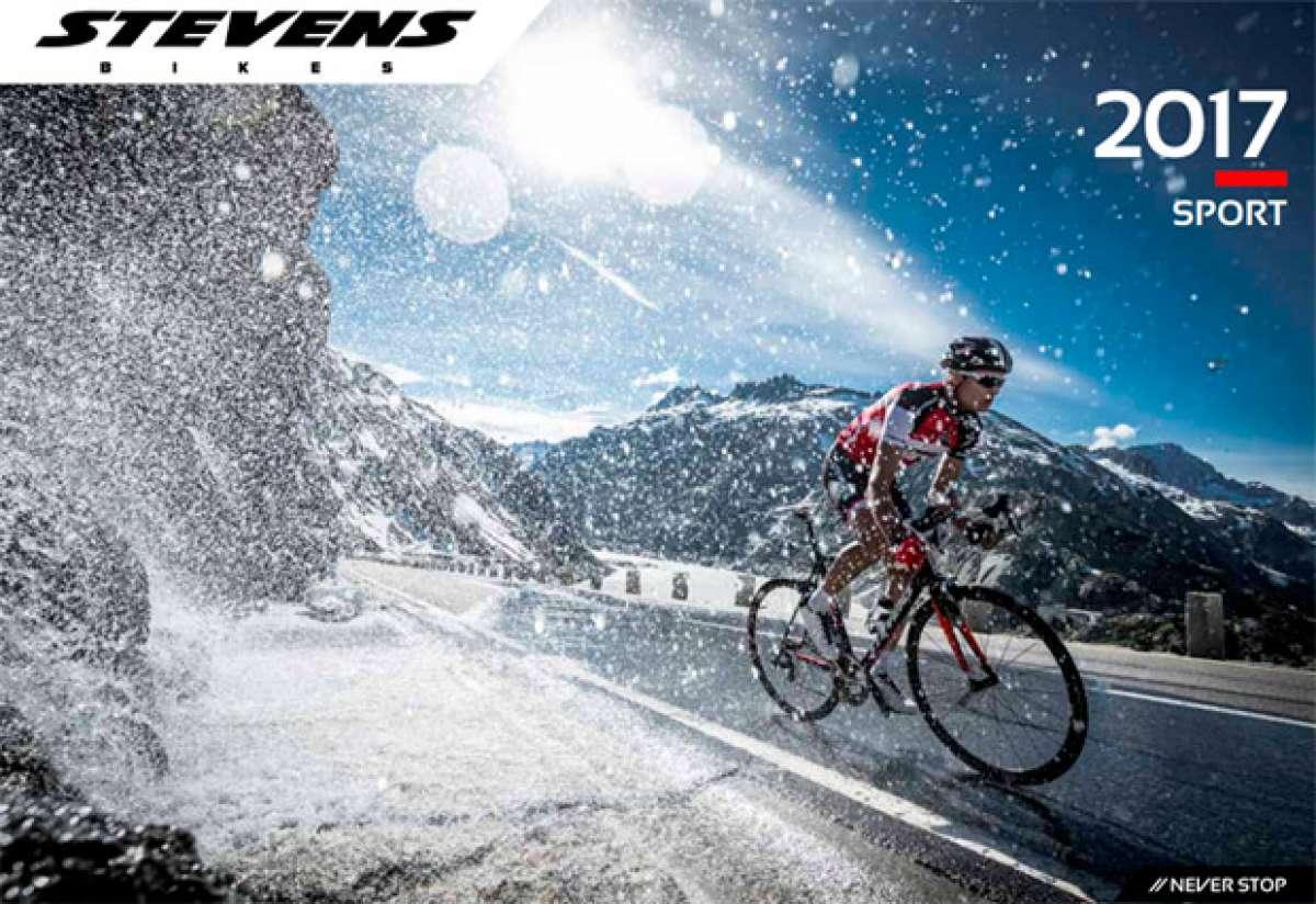 Catálogo de Stevens 2017. Toda la gama de bicicletas Stevens para la temporada 2017