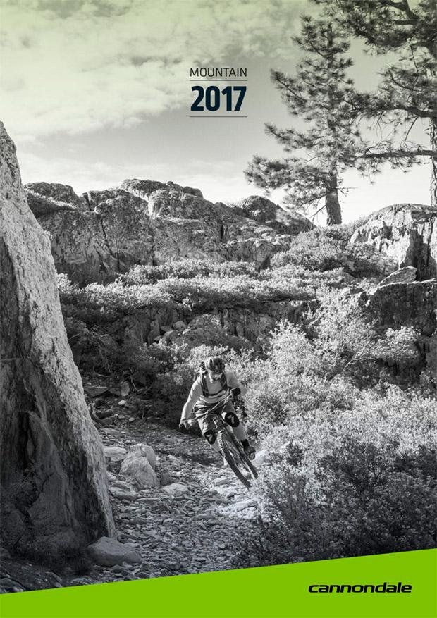 En TodoMountainBike: Catálogos de Cannondale 2017. Toda la gama de bicicletas Cannondale para la temporada 2017
