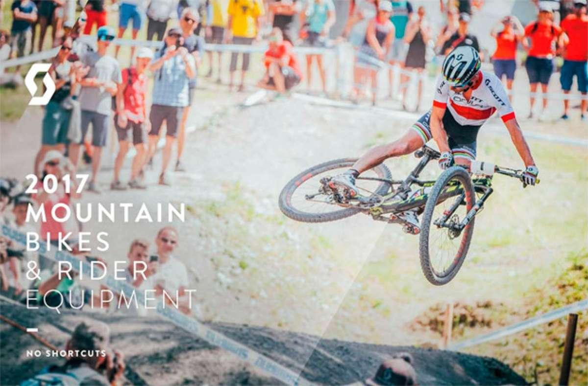 Catálogos de Scott 2017. Toda la gama de bicicletas Scott para la temporada 2017