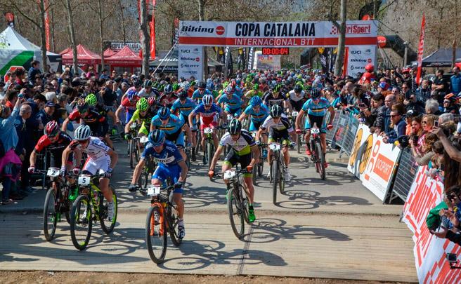 Máxima categoría UCI para la primera prueba de la Copa Catalana Internacional BTT Biking Point 2017
