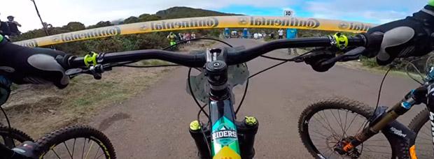 Así fue la carrera de Cédric Gracia en la Megavalanche 2016 de la isla Reunión