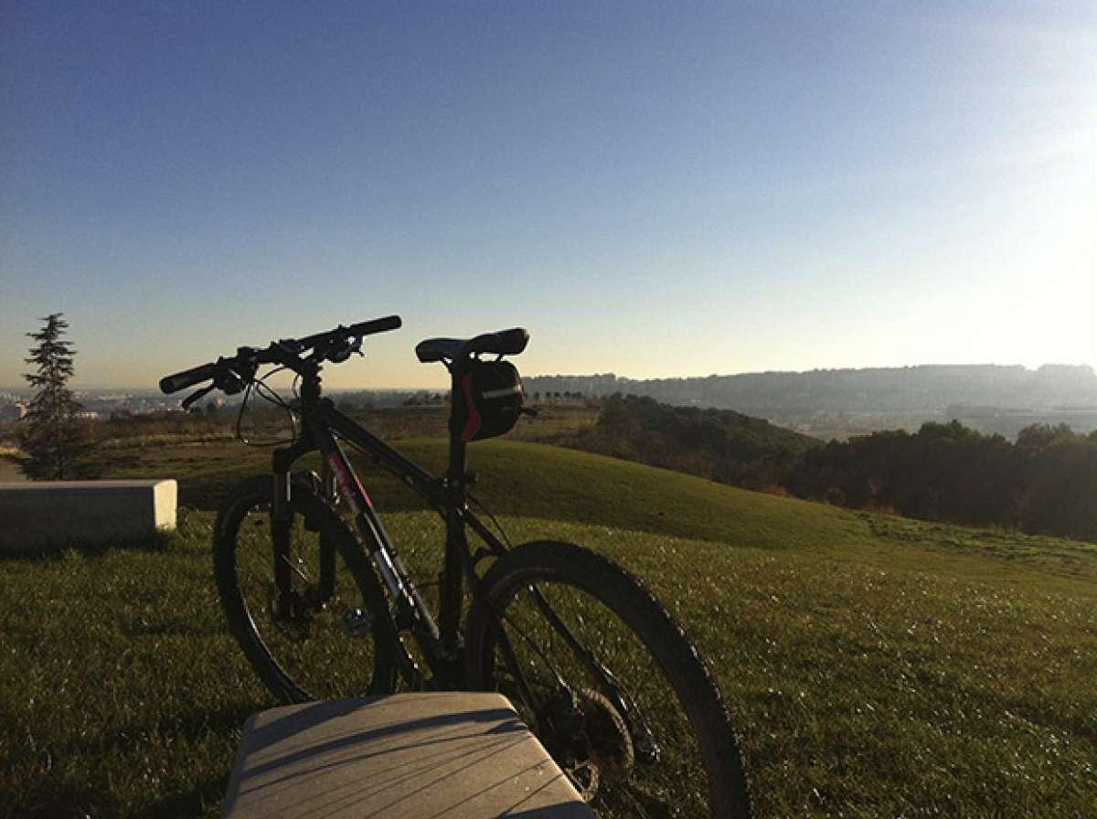 La foto del día en TodoMountainBike: 'Cerro de Las Contiendas'