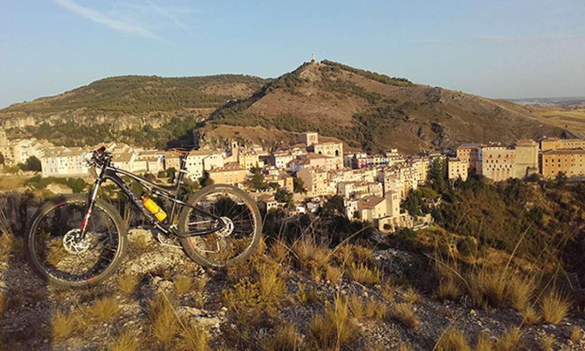 En TodoMountainBike: La foto del día en TodoMountainBike: 'Atardecer en Cuenca'