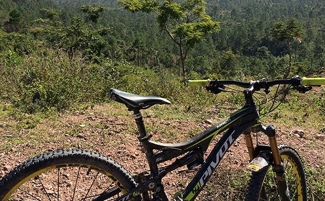 La foto del día en TodoMountainBike: 'Desde el cerro El Cimarrón'